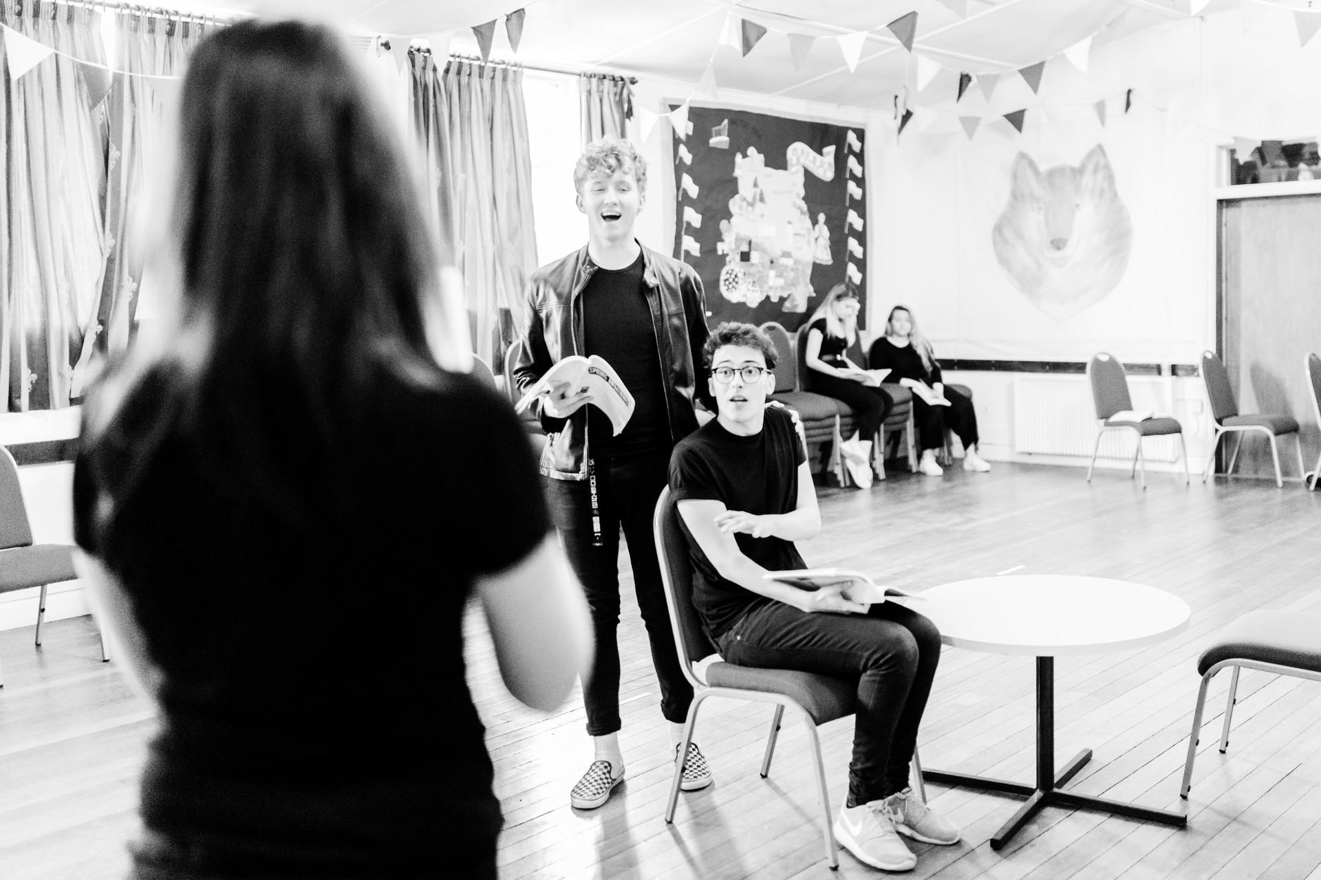 Spring Awakening - Rehearsal Photos