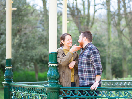 Emily and James' Engagement Shoot