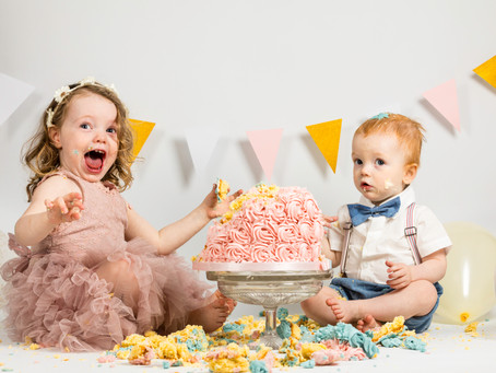 Cake Smash! What a Mess!