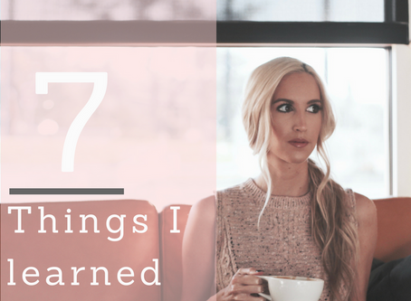 7 Things I Learned in 2017