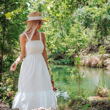 Summer Capsule Wardrobe Spot Light: The classic White Dress