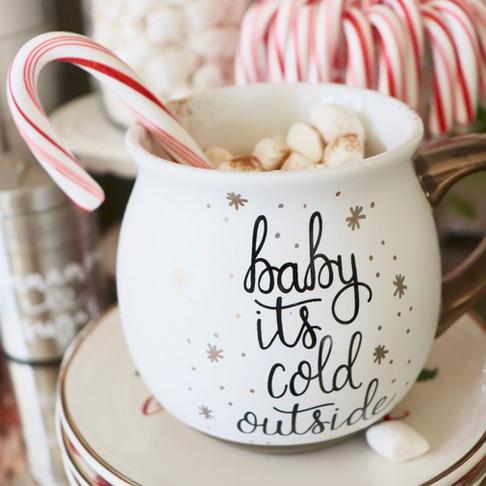 DIY Hot Chocolate Bar + How to Make Vegan Hot Cocoa