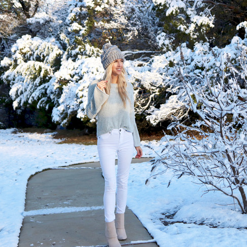 Outfit of the Day: Winter Whites
