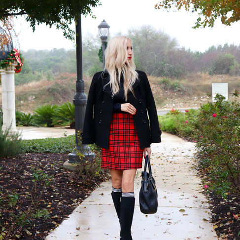 Currently Wearing: Plaid for the Holidays