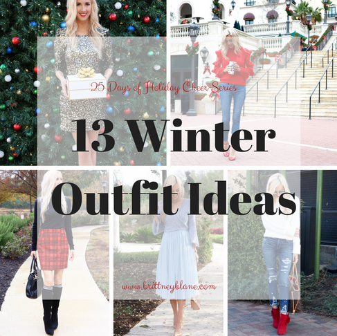 13 Winter Outfit Ideas 2017