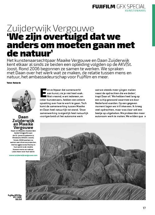 Fuji Film Magazine (Dutch only).