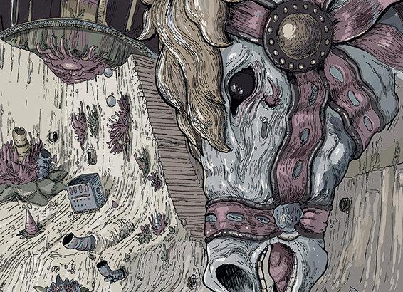 Print em A3 - Labirinto (cavalo)