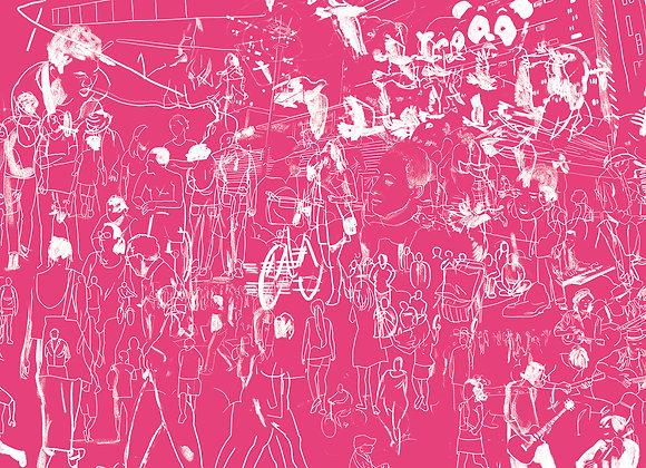 Print A4 - Paulista rosa