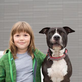 Maya Sandholzer mit Rocco