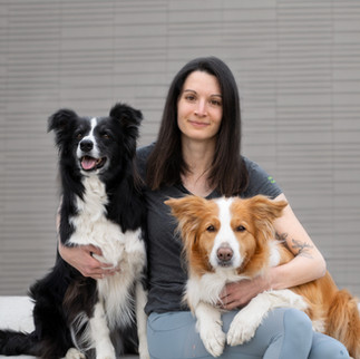 Lisa Corn mit Baya & Joko