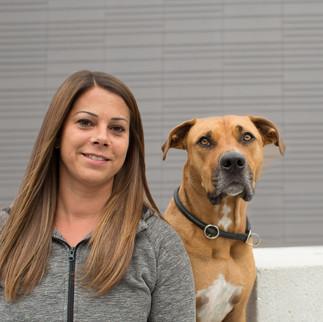 Kristina Dietrich mit Buddy