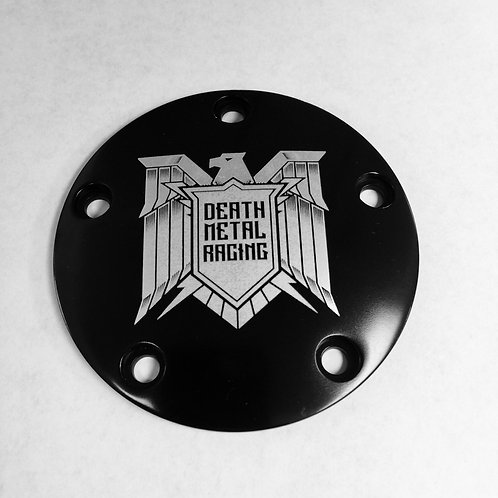 DEATH METAL RACING EAGLE LOGO IGNITION COVER