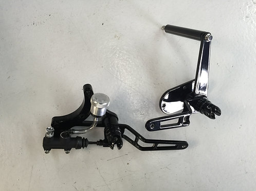 MID CONTROLS FOR STOCK SOFTAIL AND DYNA ENCLOSED PRIMARY