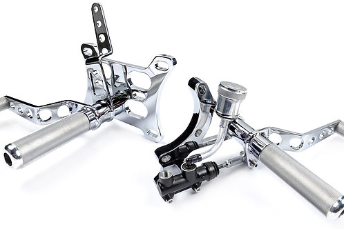 Mid Controls For Harley 5 & 6 Speed Trans Evo Style