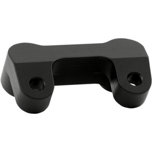 LA CHOPPERS  Black T-Bar Handlebar Adapter