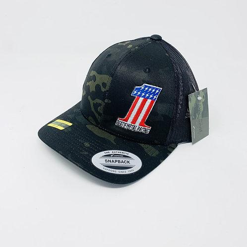 Curved Bill Multi-Cam #1 DMR Hat