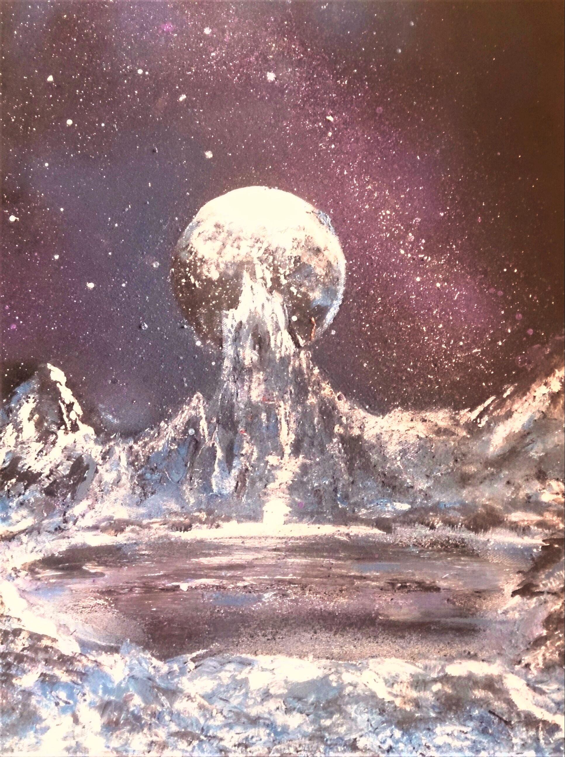Un château dans l'espace