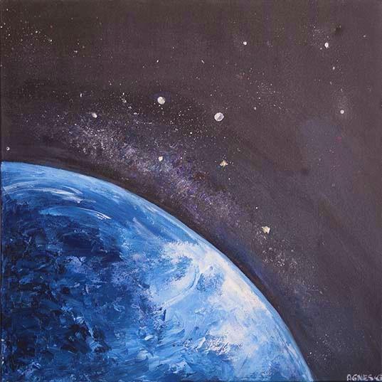 Terre vue de l'espace