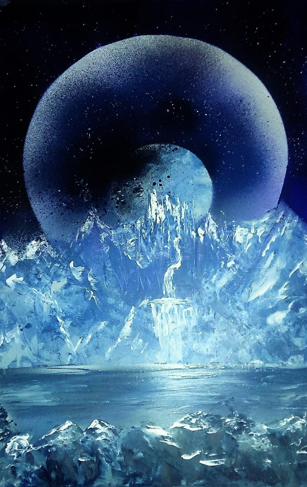 Château sous la Lune
