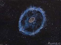 Galaxie de la roue du chariot