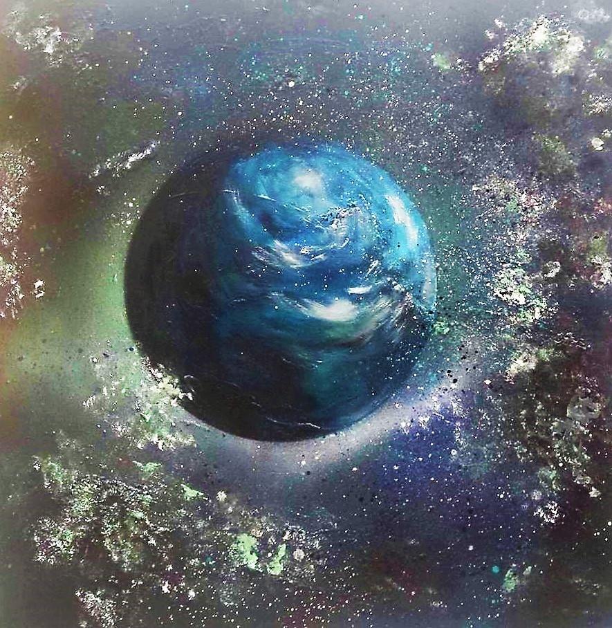 Pluie d'astéroïdes sur la Terre