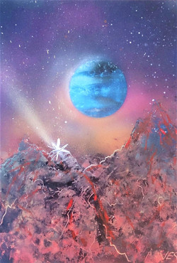 Super volcan sur Mars
