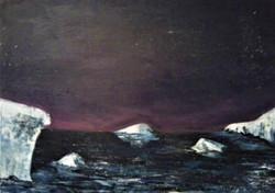 Icebergs sous voûte céleste
