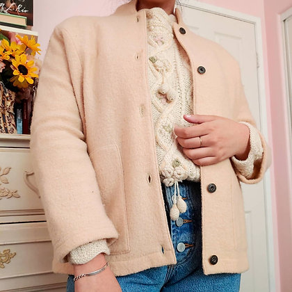 90s Wool Chore Jacket, up to M