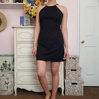 90s Black Dress