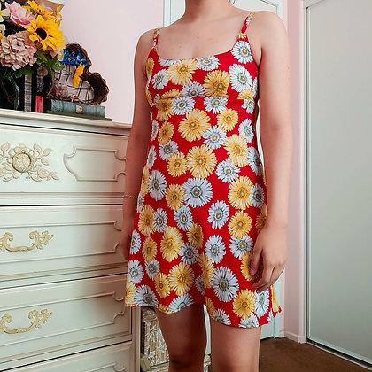 90s Daisy Dress, XS/S