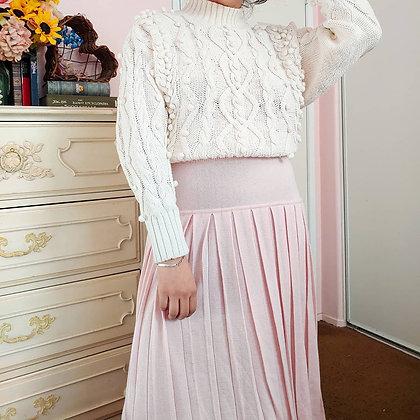 90s Berek PInk Pleated Skirt