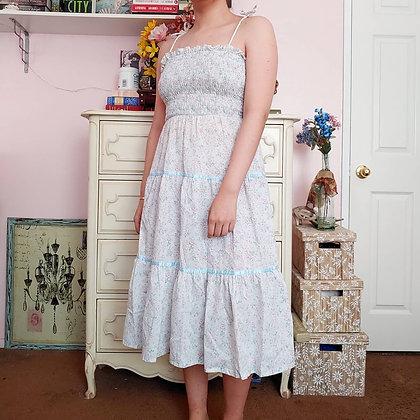 70s Candi Jones Floral Dress, XS/S