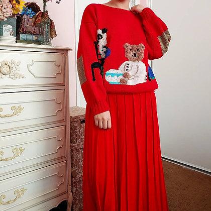 90s Berek Goldilocks & The Three Bears Sweater, XS-L