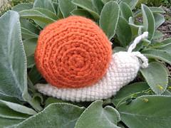 Squishy Snail Amigurumi