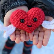 Happy Heart Amigurumi