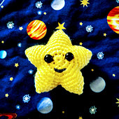 Tiny Twinkle Star Amigurumi