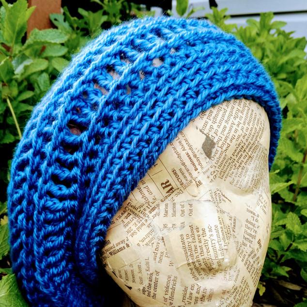 Spiral Slouchy Hat