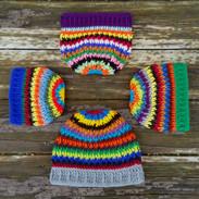 Zipper Stitch Scrap Hat