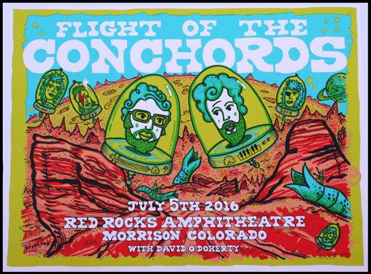 Flight Of The Conchords - Colorado