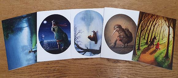 Adventurers Card Set