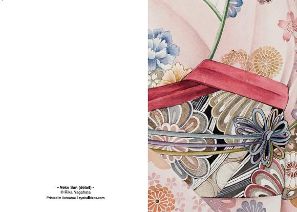 Neko San (kimono)