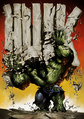 Hulk Jack Kirby Tribute