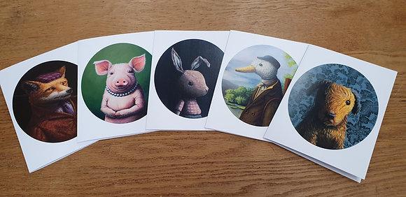 Portraits 2 Card Set