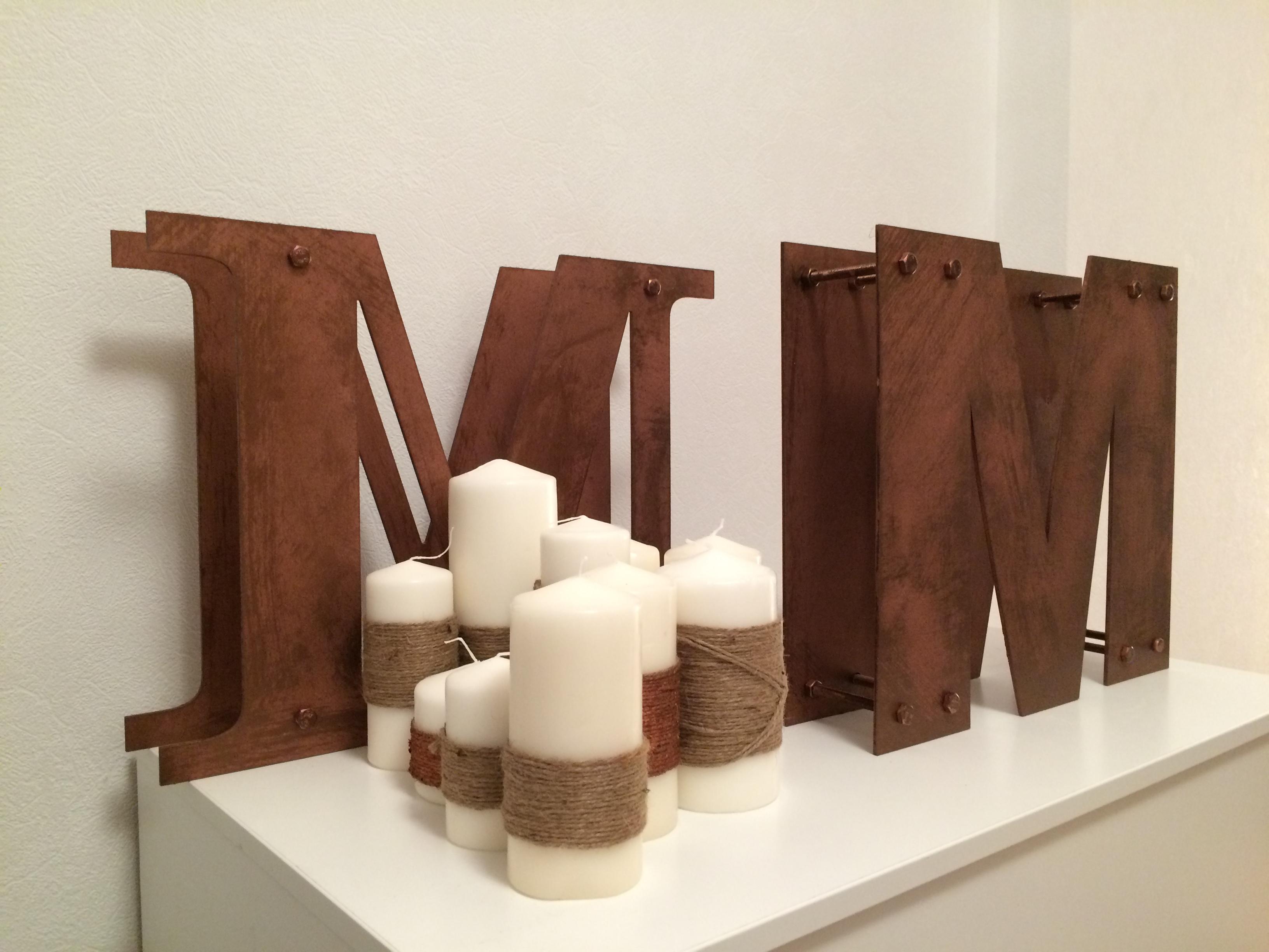 Декор и буквы