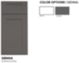 Quick Ship Door Styles - Sienna Paint Gr