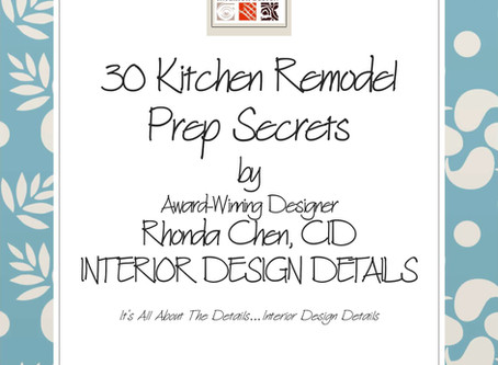 30 Kitchen Remodel Prep Secrets - eBook