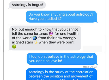 Twelve logical fallacies every astrologer should know.