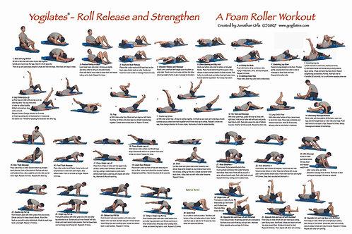 Foam Roller Workout Poster