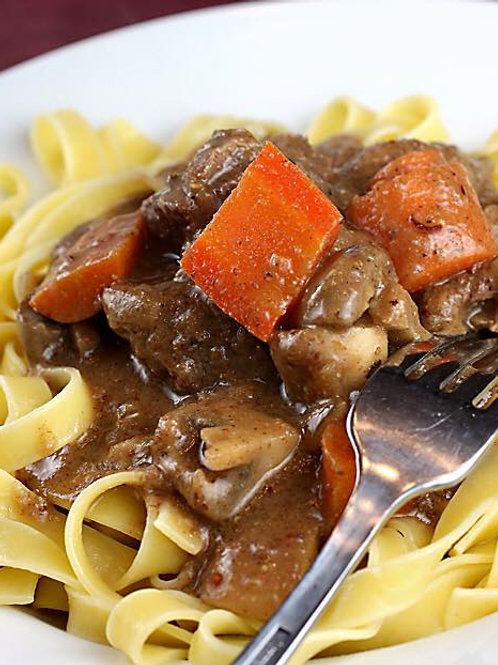 Senior Beef Stroganoff (not available at this time)