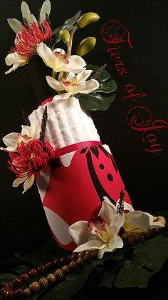 3 Tier Hawaiian TOWEL CAKE